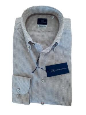 Camicia puro cotone alessandro boni