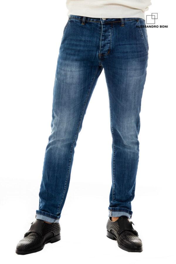 Pantalone jeans tasca filo (1)